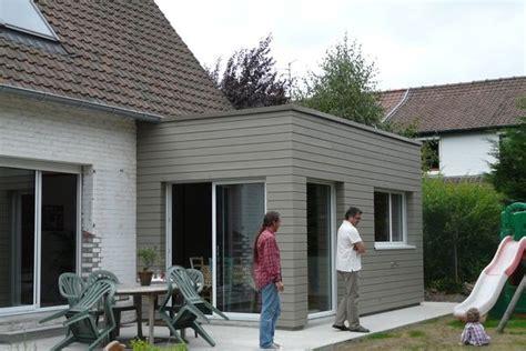 Agrandissement Maison Pas Cher 2702 by Extension Bois D Une Maison 224 Marcq En Baroeul 224 Marcq En