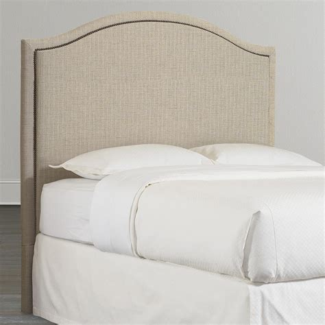unique upholstered headboards arched queen headboard custom upholstery bassett furniture