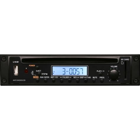 Rack Mount Mp3 Player by Galaxy Audio Rm Cd Rack Mount Cd Mp3 Cd Player Rm Cd B H Photo