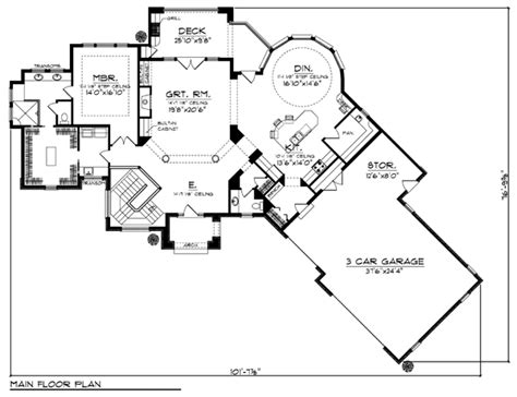 Craftsman House Plans With Basement House Plan 72966 At Familyhomeplans Com