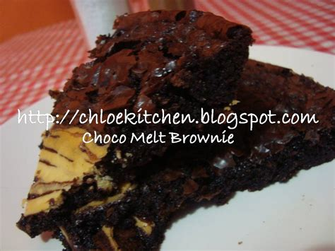 Brownies Alpukat Broklat s kitchen choco melt brownies