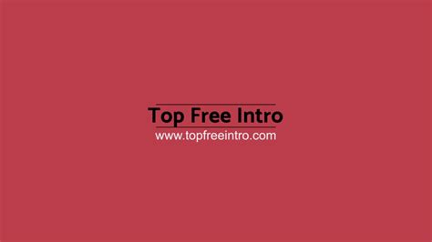 free after effects templates no plugins best free after effects 2d intro template no plugins