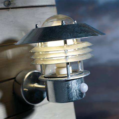 Pir Outdoor Lighting Vejers Pir Wall L Galvanised Lighting Direct
