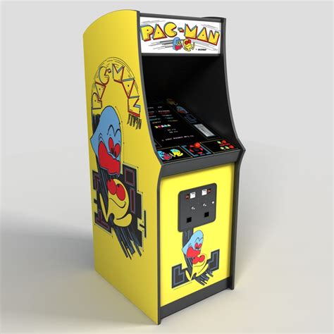 Pacman Arcade 3ds Nintendo Switch Arcade Cabinet Template