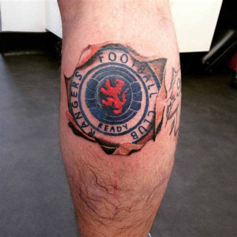 glasgow rangers tattoos designs ranger designs pictures to pin on