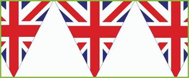union jack bunting free early years amp primary teaching