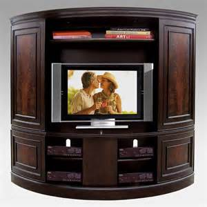 Tv Armoire Entertainment Center Riverside Affinity Curved Sliding Door 90 Inch Tv Stand