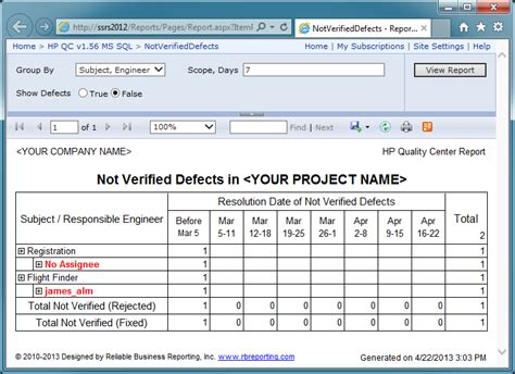 Defect Summary Report Template Pin Back To Support Page On