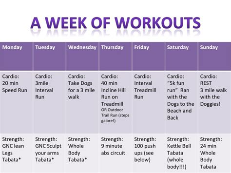 workouts of the week ohsheshines