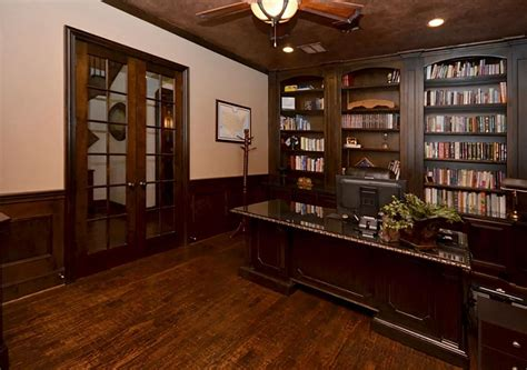 Wainscoting Office by Small Home Office With Wood Wainscoting Search