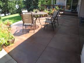 how to concrete patio decorative concrete patios minneapolis sted concrete