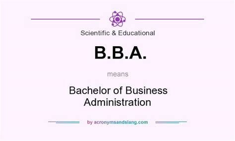 how to write bachelor of business administration on resume what does b b a definition of b b a b b a