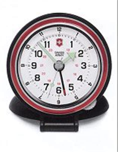 dual time travel alarm 24731 victorinox swiss army alarms clock