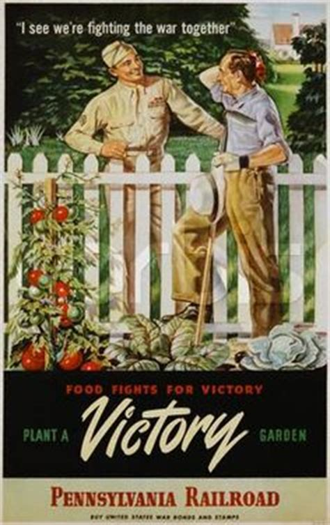 images  victory gardens  pinterest wwii