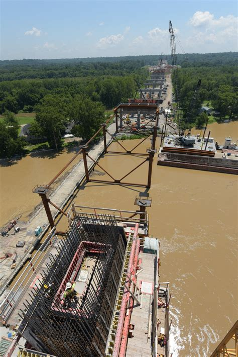 Bridge Device For Detox In Ohio by Challenging Formwork For Ohio River Bridge Concrete