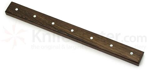 magnetic for kitchen knives wenge wood magnetic kitchen knife holder for 7 knives