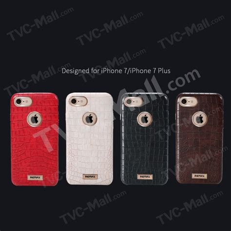 Remax Foldy Series Leather For Iphone 7 Plus 1 remax maso series crocodile leather coated pc shell for