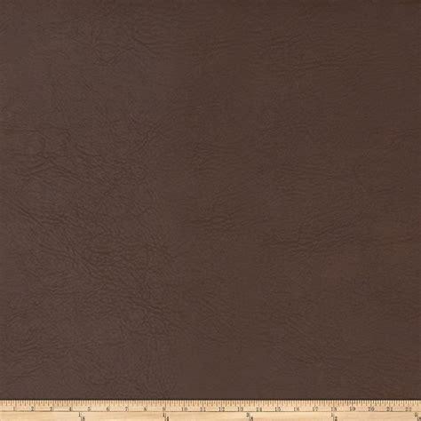 buy leather upholstery fabric fabricut koala faux leather molasses discount designer