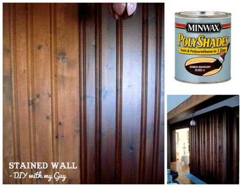 Old Wood Paneling how to stain old wood paneling without sanding could