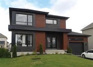 Maison Contemporaine Tr 232 S Appr 233 Ci 233 E Dessins Drummond Contemporary House Plans 2015