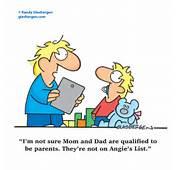 Dad With Kids Cartoon Cartoons About Children Randy Glasbergen
