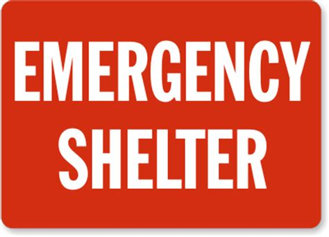 phone number letters emergency shelter signs and emergency signs sku s 1538 1538