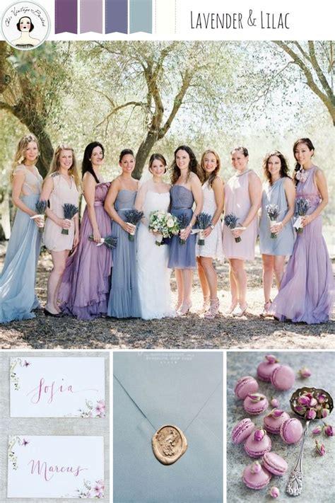 romantic color schemes 17 best ideas about lilac wedding colors on pinterest