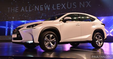 lexus nx malaysia lexus nx launched in malaysia from rm299k rm385k image 307873