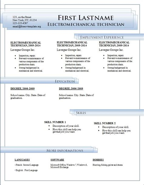 cv in word format download amitdhull co