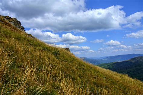 picture mountain grass sky landscape nature tree outdoor hill national park hilltop