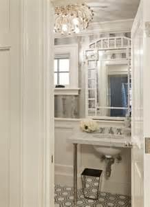 Powder Room Flooring Ideas Glamorous Powder Rooms La Dolce Vita