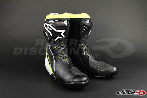 kawasaki riding boots 2016 alpinestars supertech r riding boot kawasaki ninja
