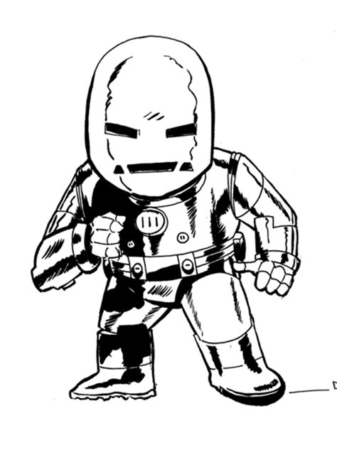 cute iron man coloring pages chibi iron man mark 1 armor by axl 316 on deviantart