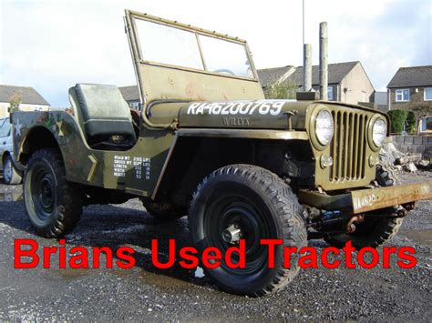 used jeeps for sale in uk brian s used tractors used tractors tractors for sale