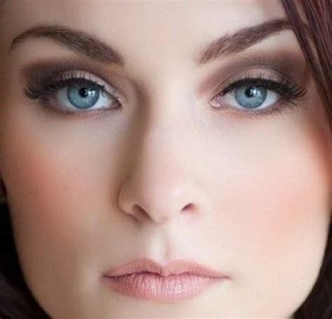 Blue Wedding   Smokey Eyes For Blue Eyes #2063592   Weddbook