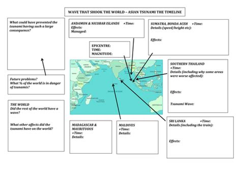 Tsunami Worksheet by Worksheet To Complete For Tsunami Doc By Em57 Teaching