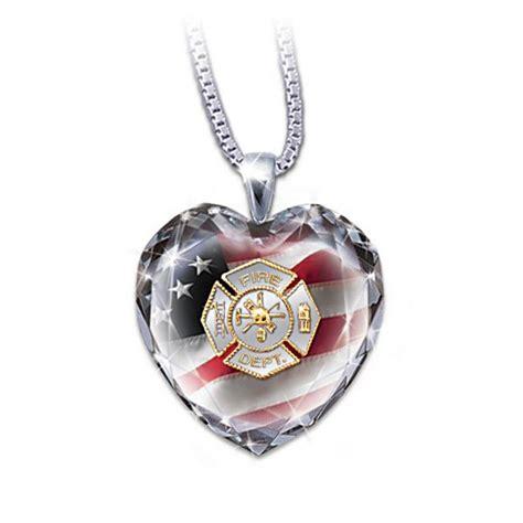 my firefighter pendant necklace multi
