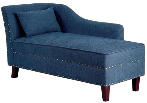 chaise fabric stillwater dark teal fabric chaise from furniture of