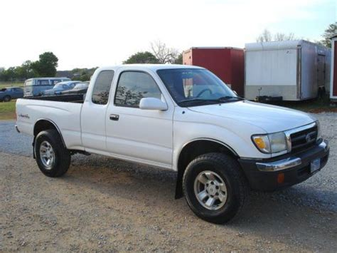 all car manuals free 1999 toyota tacoma electronic throttle control sell used 1999 toyota tacoma sr5 4wd v6 4x4 ext cab no reserve in springtown texas united states
