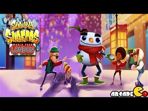 subway surfers character christmas holiday update