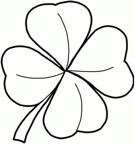 pictures of shamrocks to print 370611