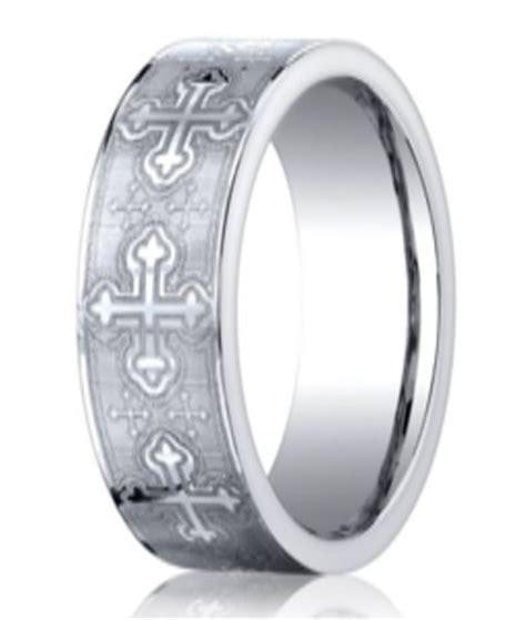 Designerbalt Christian  Ee  Wedding Ee    Ee  Band Ee   With Crosses