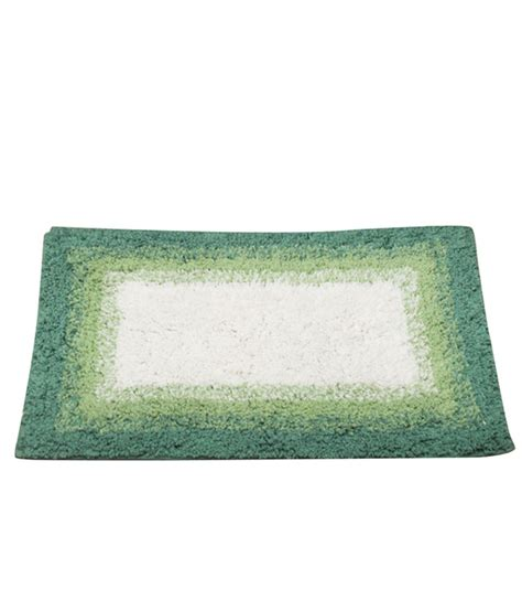 Small Green Rug by House This Ombre Green White Bath Rug Small Buy