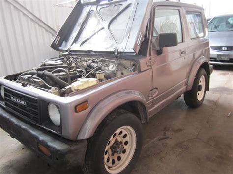 Suzuki Samurai Used Parts Parting Out 1989 Suzuki Samurai Stock 110508 171 Tom S