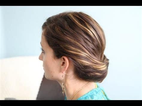 diy hairstyles cgh ponytail gibson tuck diy hairstyles for work cute