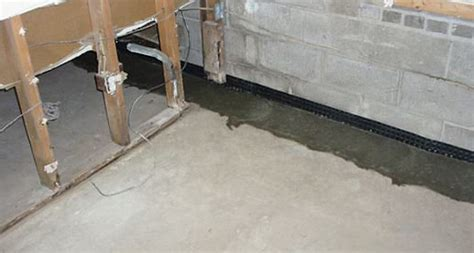 Basement Floor Waterproofing Interior Basement Waterproofing Everdry Waterproofing Of Michiana