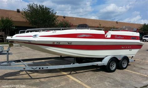 used vip boats for sale in texas 2005 used vip 220 deckliner deck boat for sale 21 000