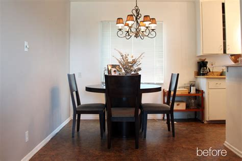 Dining Room Makeovers Before And After Dining Room Makeover