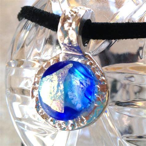 Wedges Gl 999 Silver Tb antiquity 999 silver aqua flamed glass gem