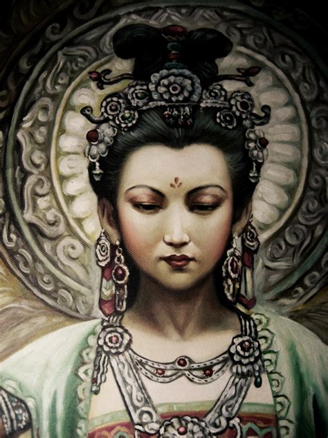 Liontin Guan Yin quan yin on guanyin goddesses and buddhists